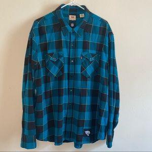 Levi's NFL Jacksonville Jaguars Flannel Shirt